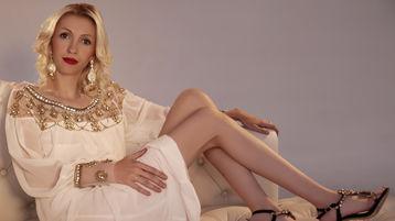 BeautyDominique:n kuuma kamera-show – Nainen sivulla Jasmin