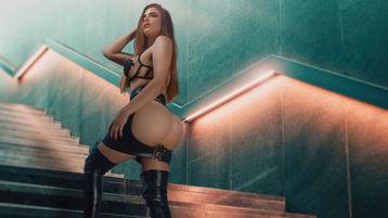 KellyAstor:n kuuma kamera-show – Nainen sivulla Jasmin
