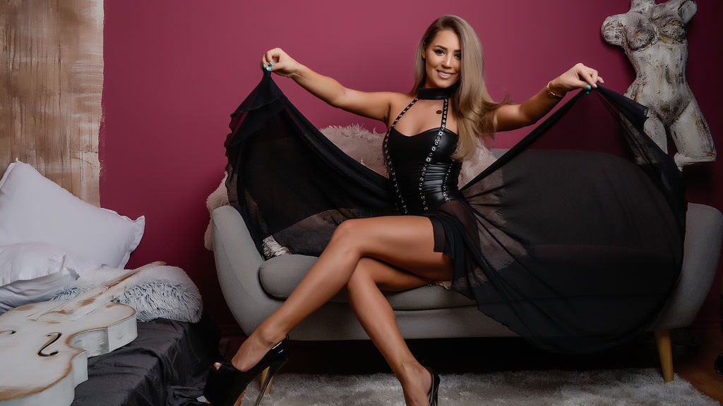 AbbelaWhite:n kuuma kamera-show – Nainen sivulla Jasmin