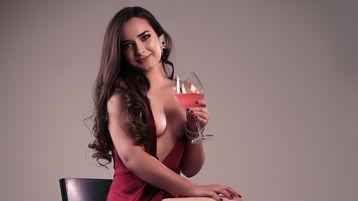 AdorableSofia:n kuuma kamera-show – Nainen sivulla Jasmin