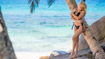 SandraDream:n kuuma kamera-show – Nainen sivulla Jasmin
