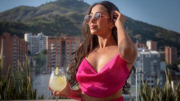 AlexaVault:n kuuma kamera-show – Nainen sivulla Jasmin