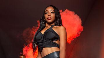 AnaMilburn szexi webkamerás show-ja – Lány a Jasmin oldalon