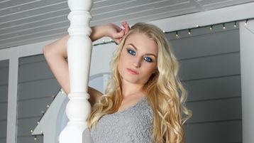 GabriellaBlond:n kuuma kamera-show – Nainen sivulla Jasmin