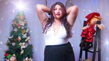 AbbyLee:n kuuma kamera-show – Nainen sivulla Jasmin