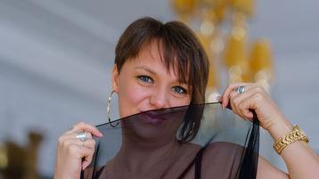 AmandaElsker:n kuuma kamera-show – Nainen sivulla Jasmin