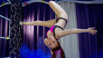 AnjiX szexi webkamerás show-ja – Lány a Jasmin oldalon